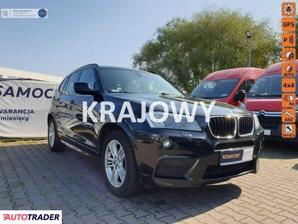 BMW X3 2012 2.0 184 KM
