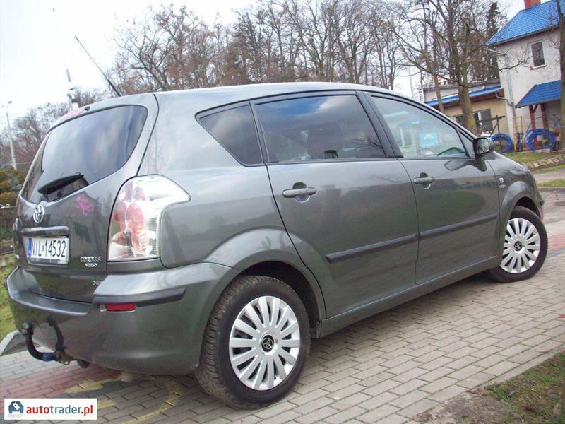Toyota Verso 2005 inny 2.2 177 KM