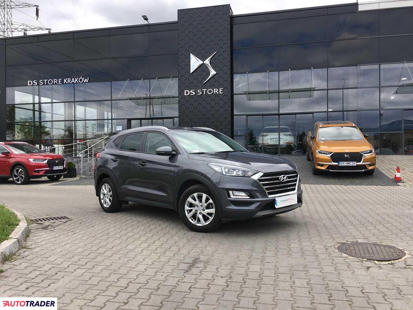 Hyundai Tucson 2019 1.6 177 KM