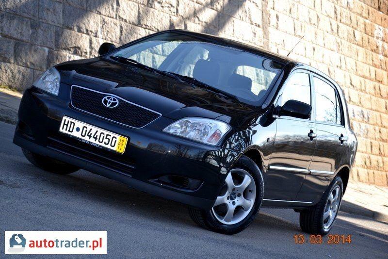 Toyota Corolla 2004 2.0 116 KM