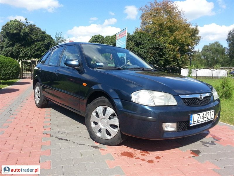 Mazda 323 1999 2.0 90 KM