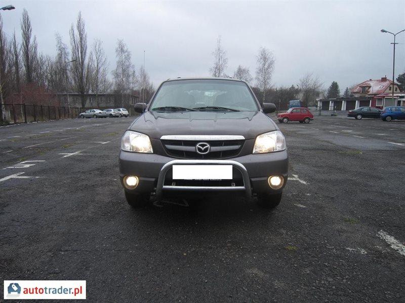 Mazda Tribute 2002 2.0 124 KM