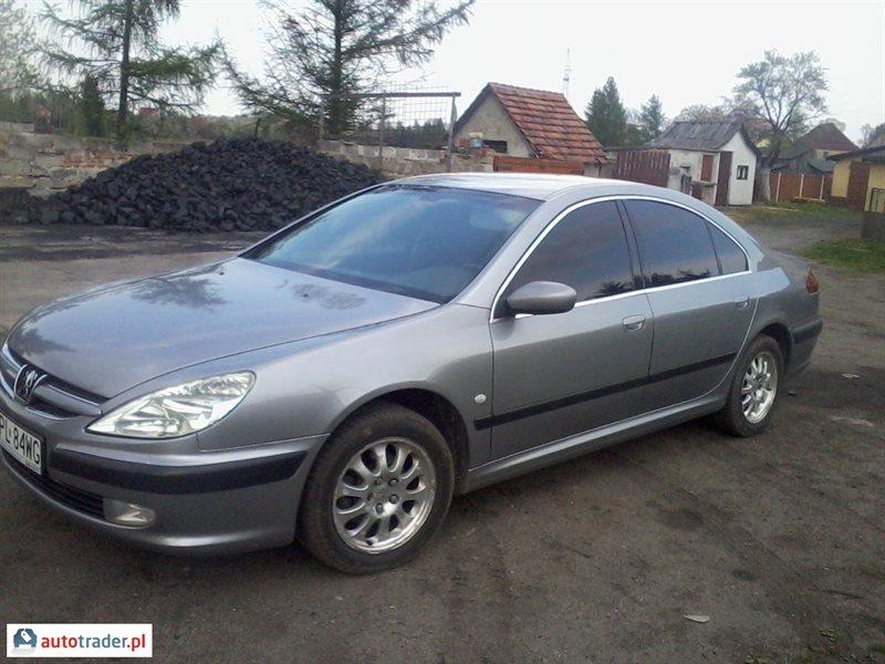 Peugeot 607 2004 2.2 98 KM