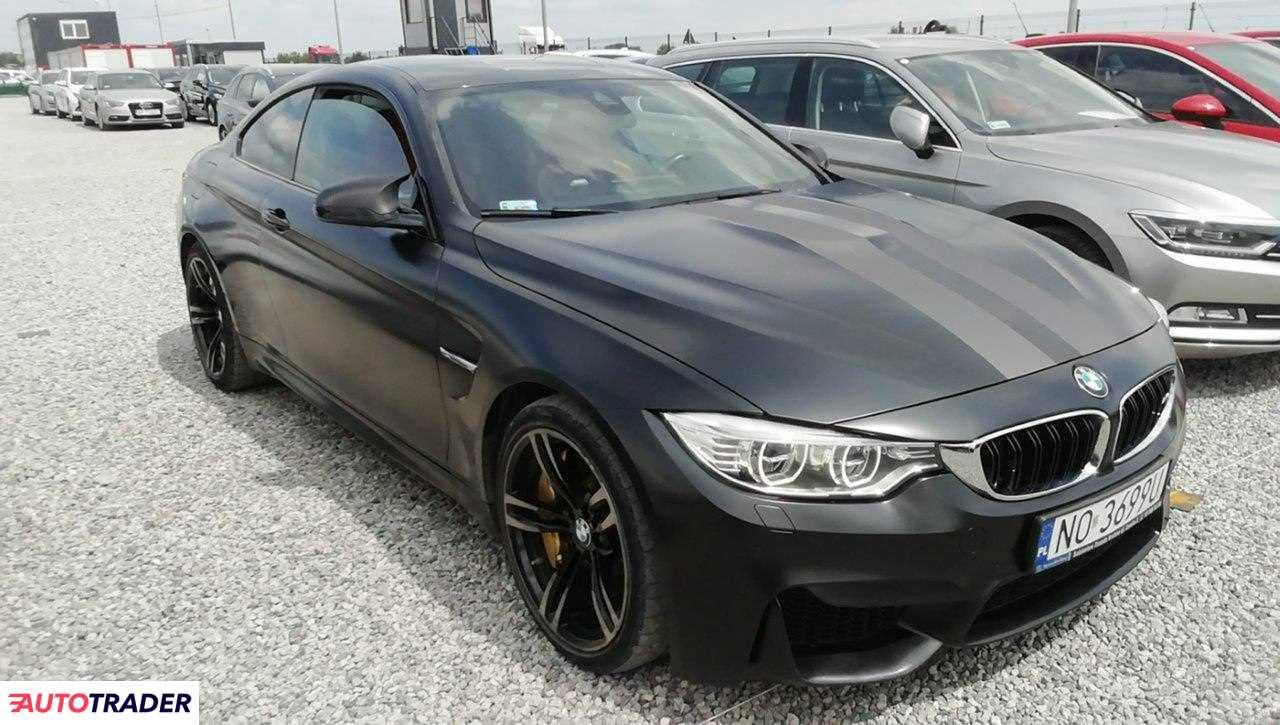 BMW M4 2016 3.0 431 KM