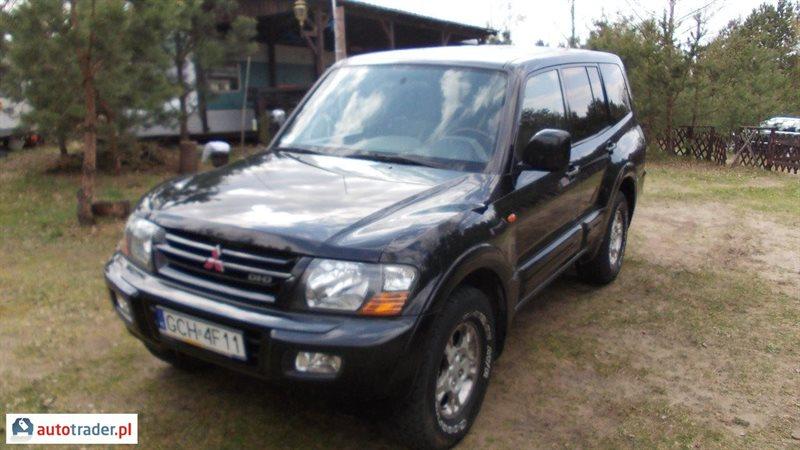 Mitsubishi Pajero 2001 3.2 224 KM