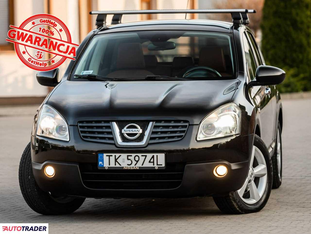 Nissan Qashqai 2008 2 141 KM