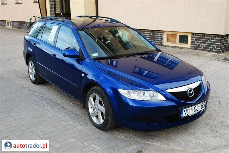 mazda 6 2 0 2004 r 2 0 diesel 121 km 2004r gi ycko. Black Bedroom Furniture Sets. Home Design Ideas