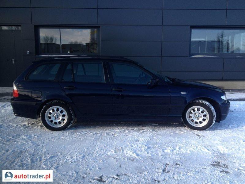BMW 320 2005 116 KM