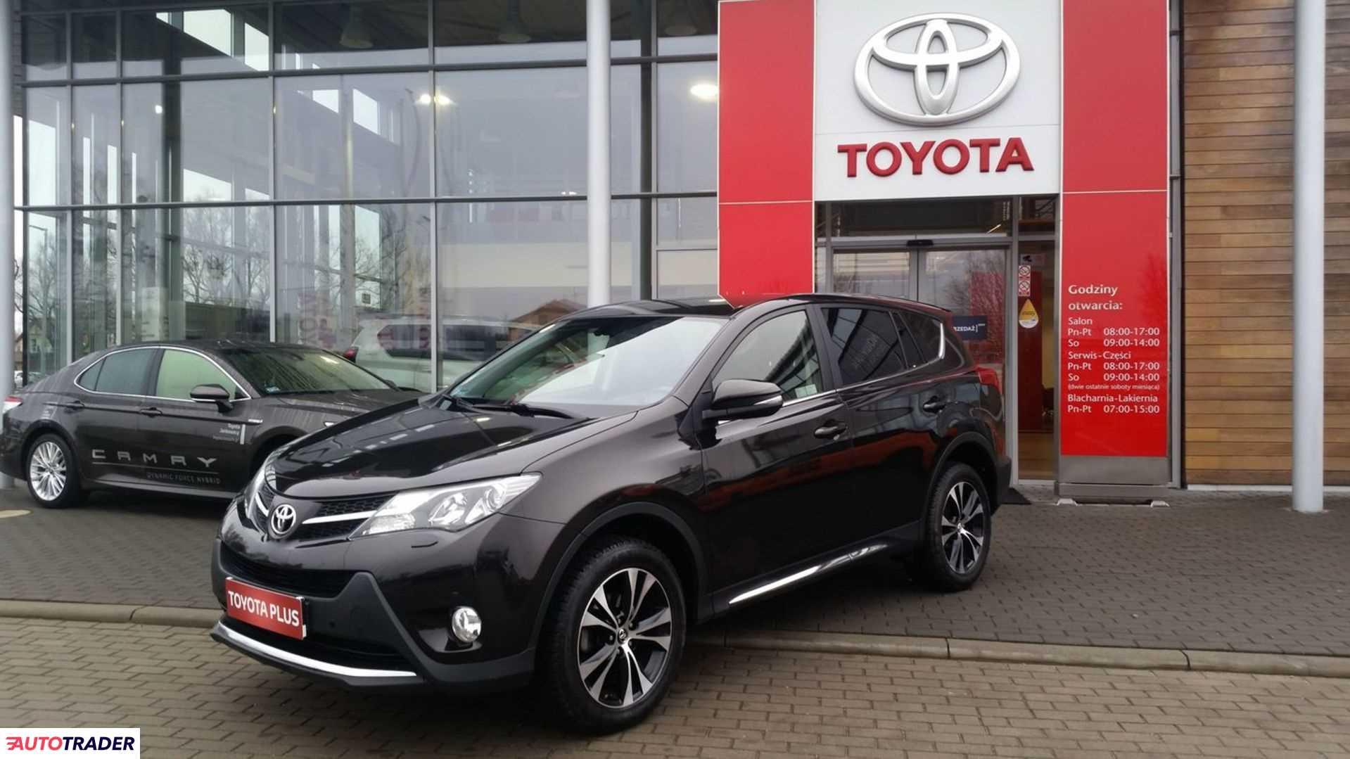 Toyota RAV 4 2014 2.2 150 KM