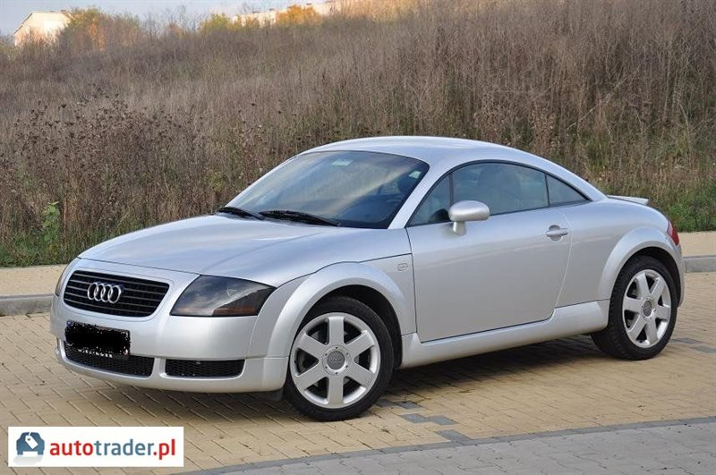 Galeria Audi Tt 1 8 2000 R 1 8 180 Km 2000r Zdjęcie 10