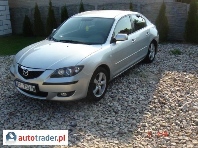 Mazda 3 2006 sedan 1.6 110 KM