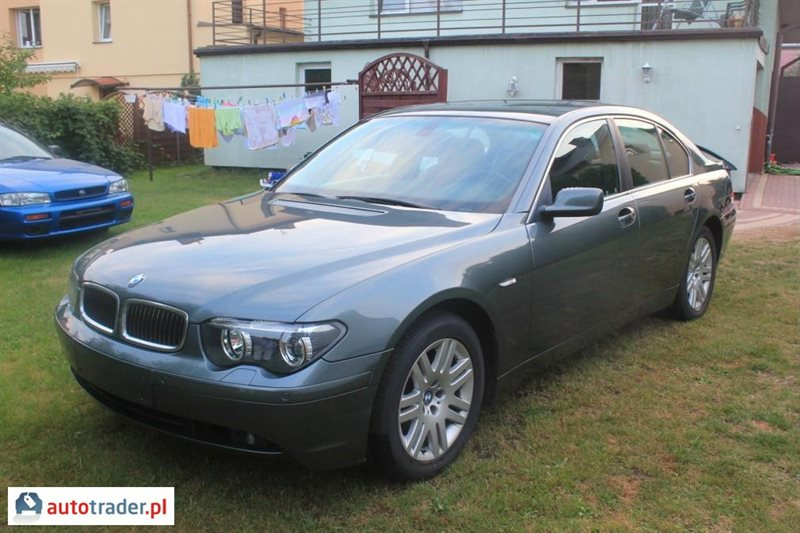 bmw 730 3 0 2002 r 3 0 diesel 218 km 2002r pilawa. Black Bedroom Furniture Sets. Home Design Ideas