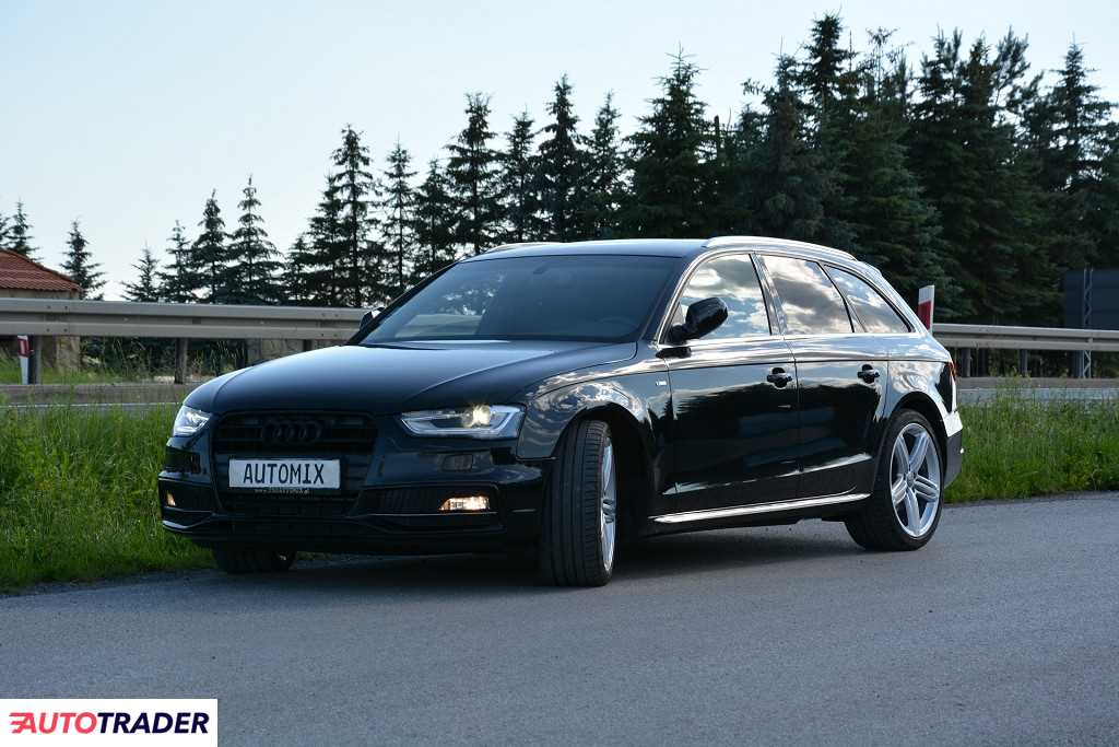 Audi A4 2015 2.0 190 KM