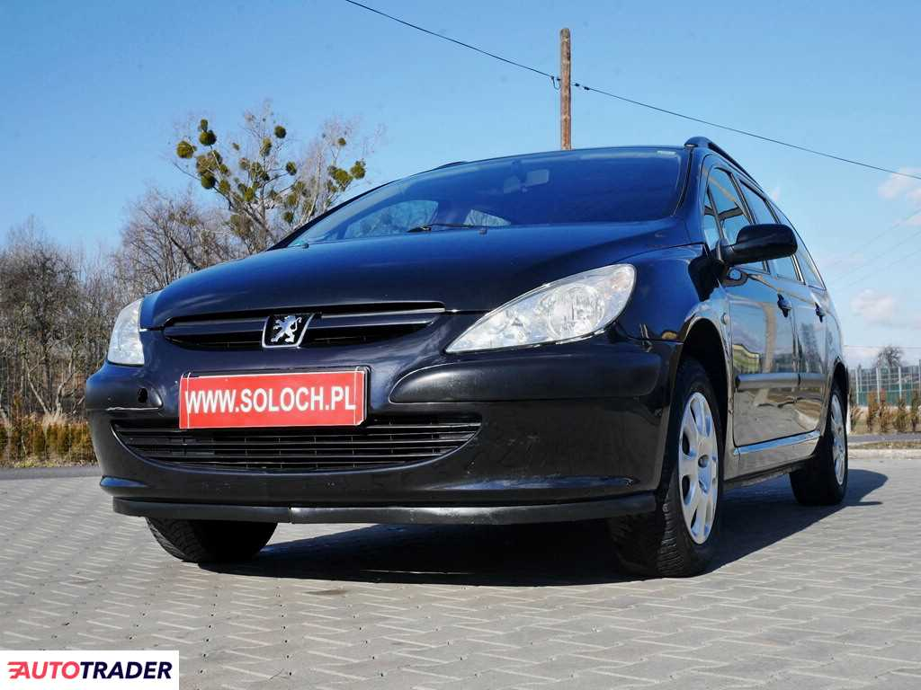 Peugeot 307 2004 1.4 88 KM