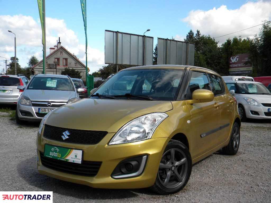 Suzuki Swift 2013 1.2 95 KM