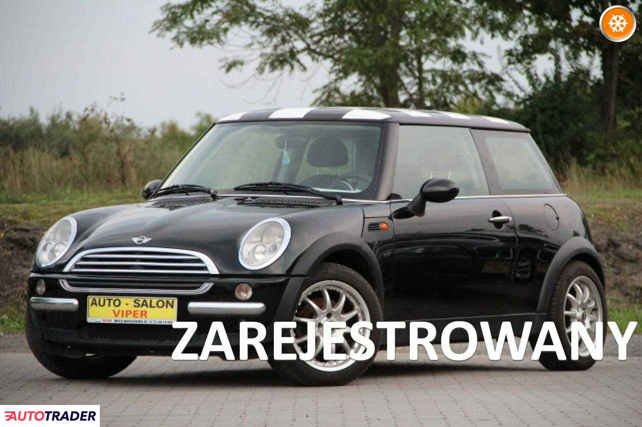 Mini Cooper 2002 1.6 90 KM