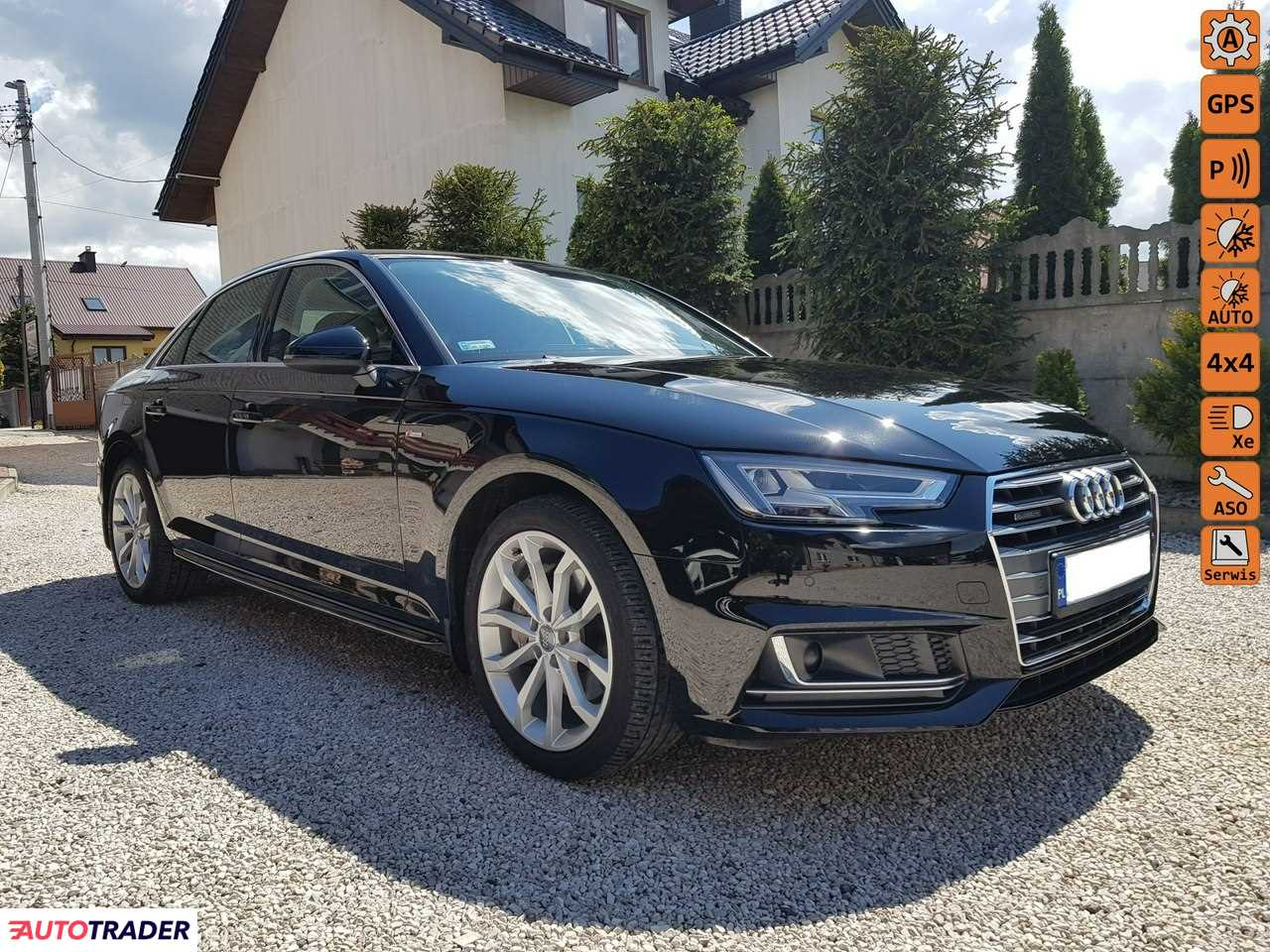 Audi A4 2017 2 190 KM