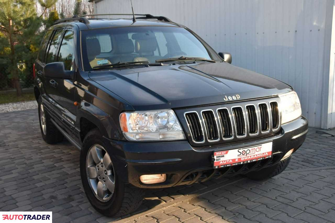 Jeep Grand Cherokee 2001 4 198 KM