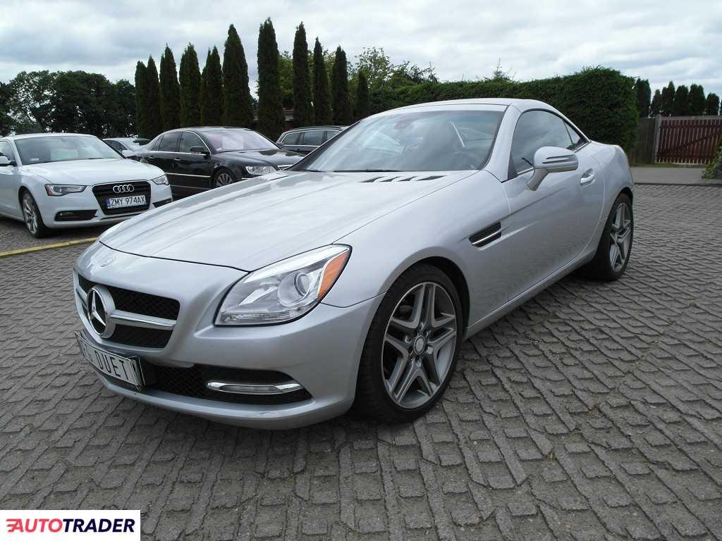 Mercedes SLK 2013 1.8 204 KM