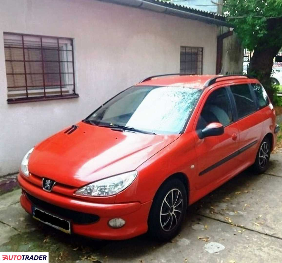 Peugeot 206 2003 1.1 60 KM