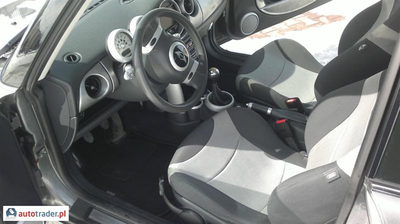 Mini Cooper 2002 coupe 1.6 163 KM