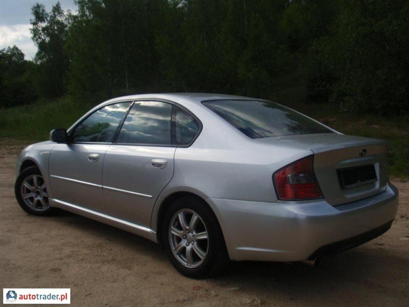Galeria Subaru Legacy 2 0 2004 R 2 0 Benzyna 137 Km 2004r