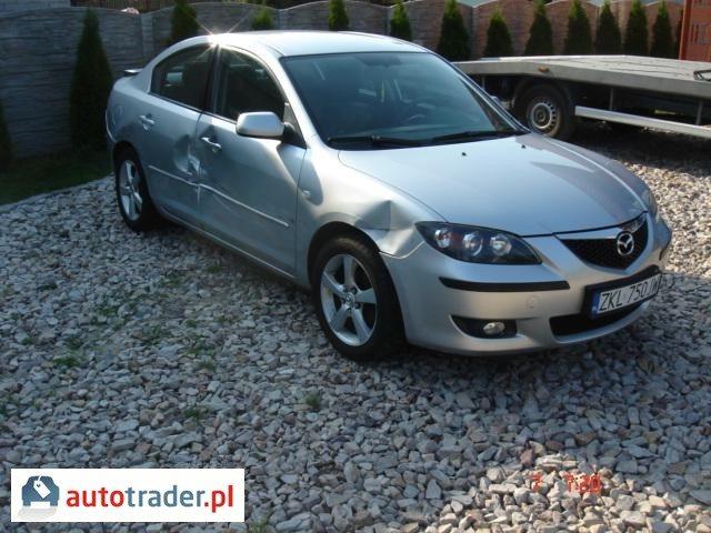 Mazda 3 2006 1.6 110 KM