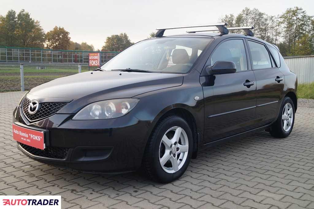 Mazda 3 2007 1.6 109 KM