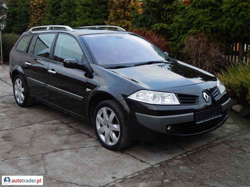 renault megane 1 9 2007 r 1 9 130 km 2007r swiebodzin. Black Bedroom Furniture Sets. Home Design Ideas
