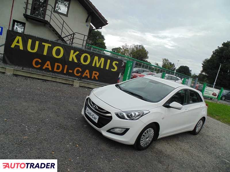 Hyundai i30 2012 1.4 100 KM