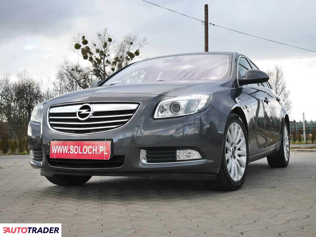 Opel Insignia 2010 2 160 KM
