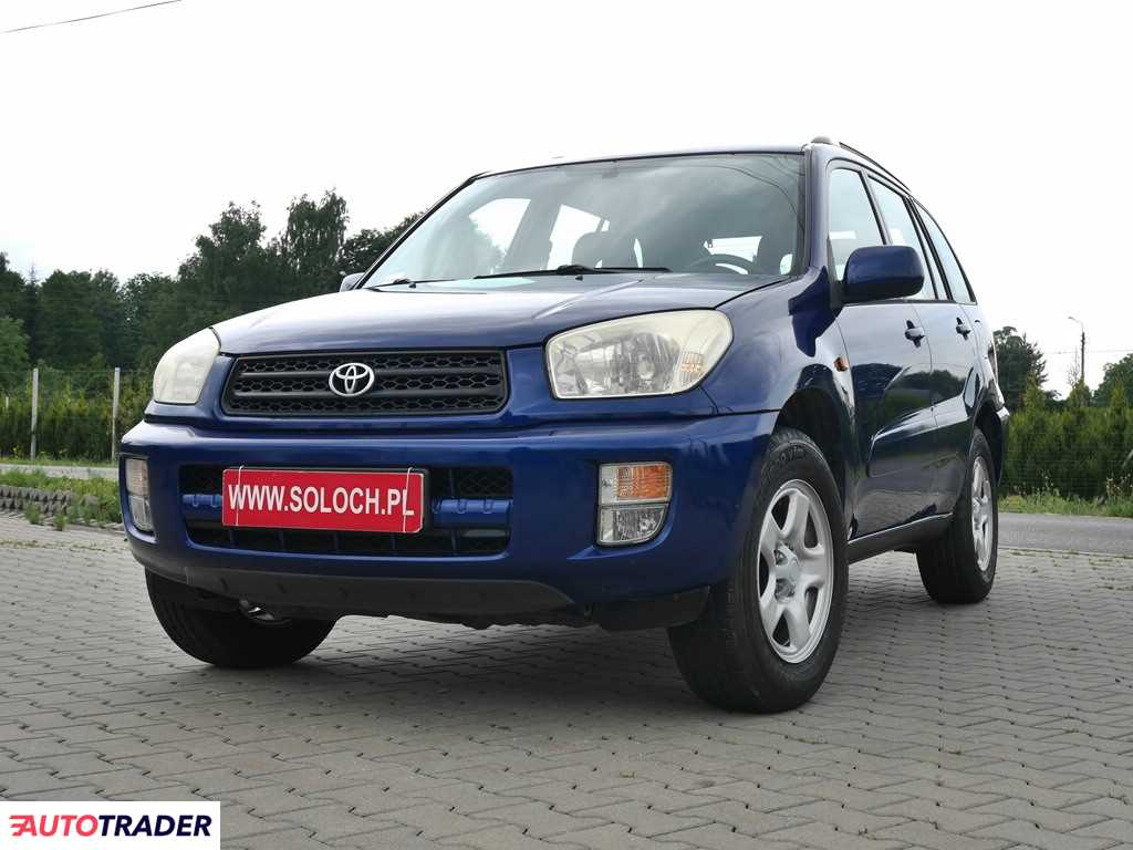 Toyota RAV 4 2003 1.8 125 KM