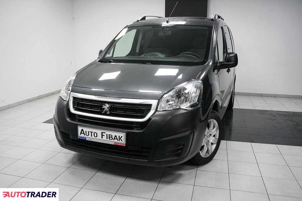 Peugeot Partner 2016 1.6 98 KM