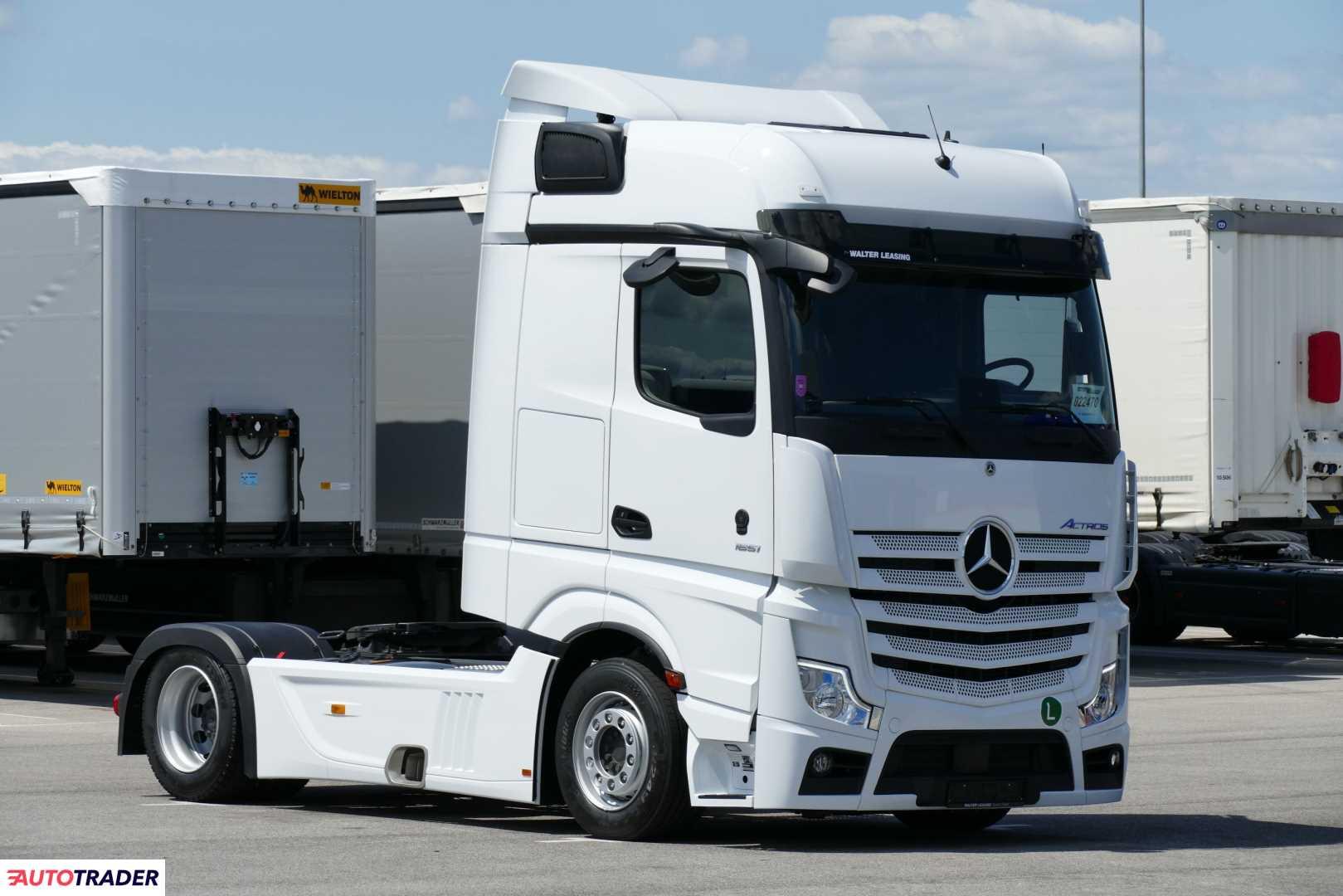 Mercedes Benz ciagnik siodlowy