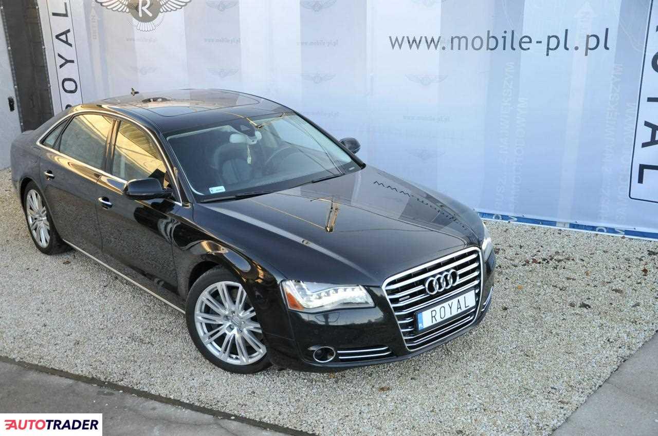 Audi A8 2010 4.2 371 KM