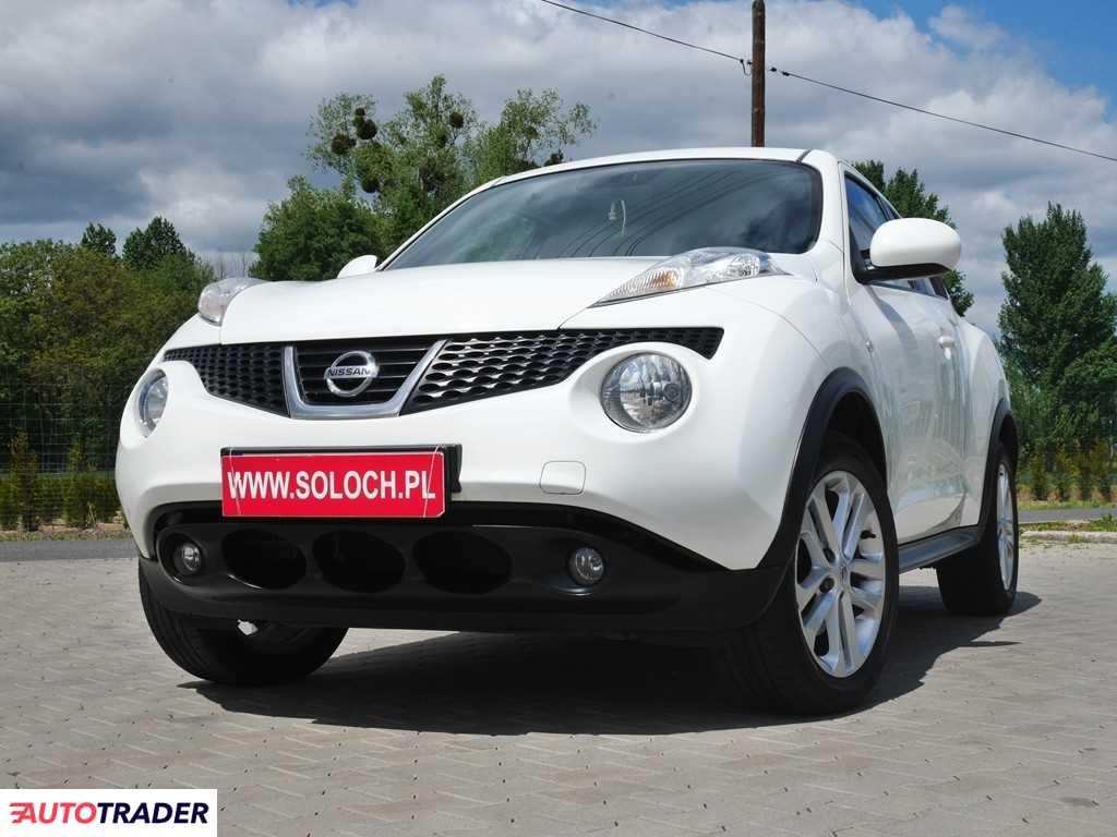 Nissan Juke 2012 1.6 190 KM