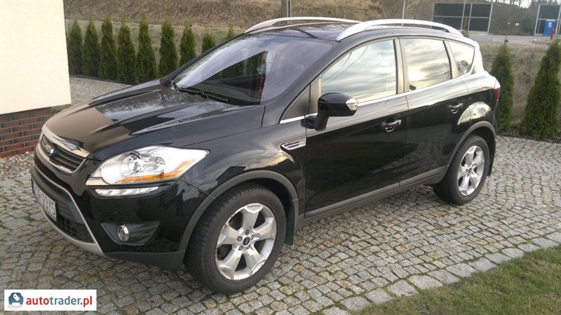 ford kuga 2 0 136 km 2010r radziszewo. Black Bedroom Furniture Sets. Home Design Ideas