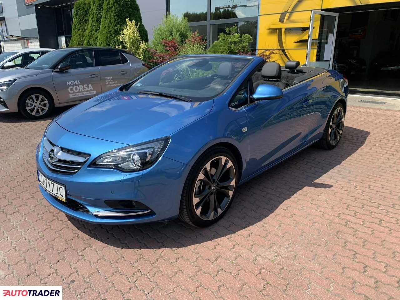 Opel Cascada 2017 1.4 120 KM