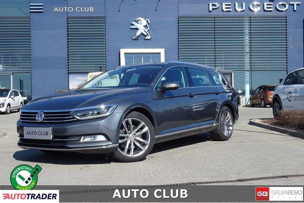 Volkswagen Passat 2017 2.0 220 KM