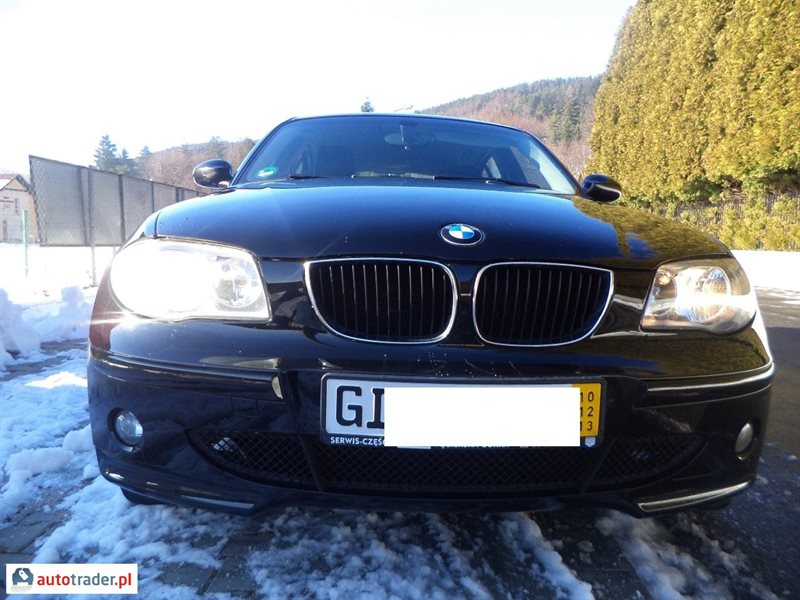 BMW 120 2005 hatchback 2.0 163 KM