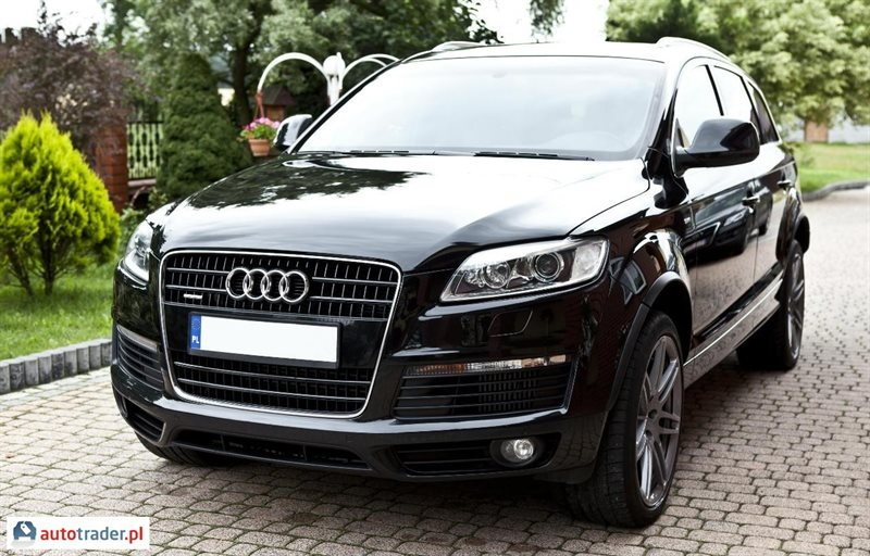 audi q7 4 2 diesel 326 km 2007r moskorzew. Black Bedroom Furniture Sets. Home Design Ideas