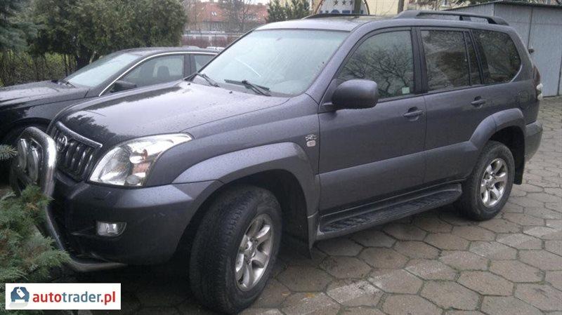 Toyota Land Cruiser 2005 3.0 166 KM