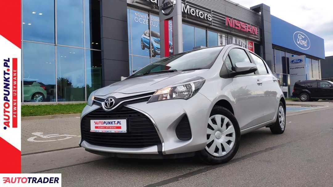 Toyota Yaris 2016 1.0 69 KM