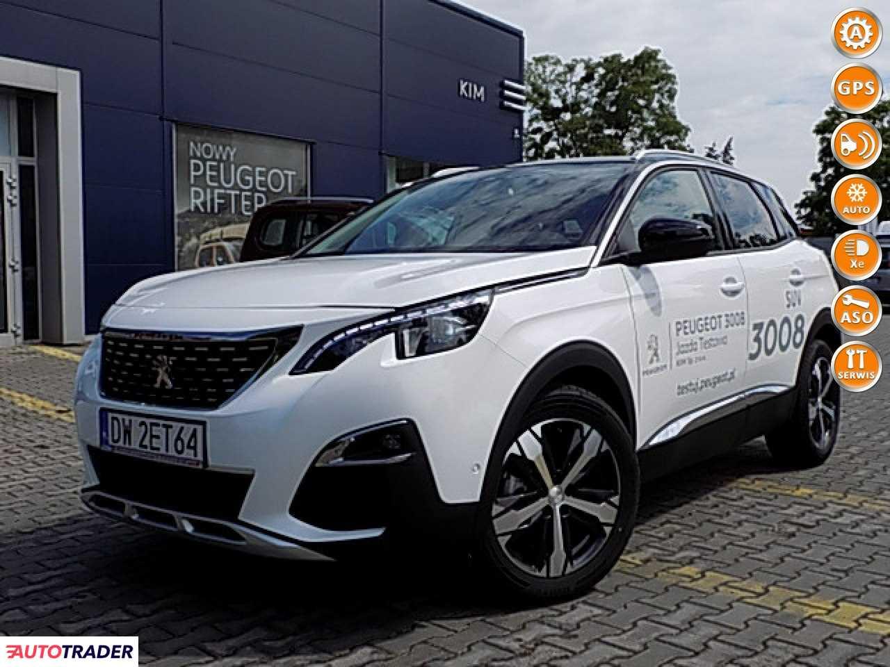 Peugeot 3008 2019 1.2 130 KM