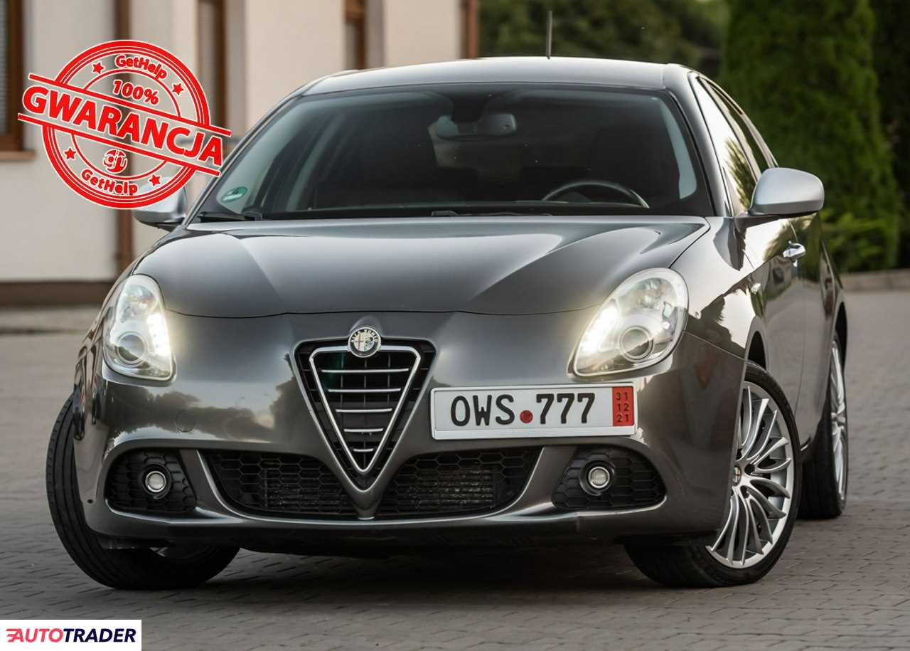 Alfa Romeo Giulietta 2010 2 170 KM
