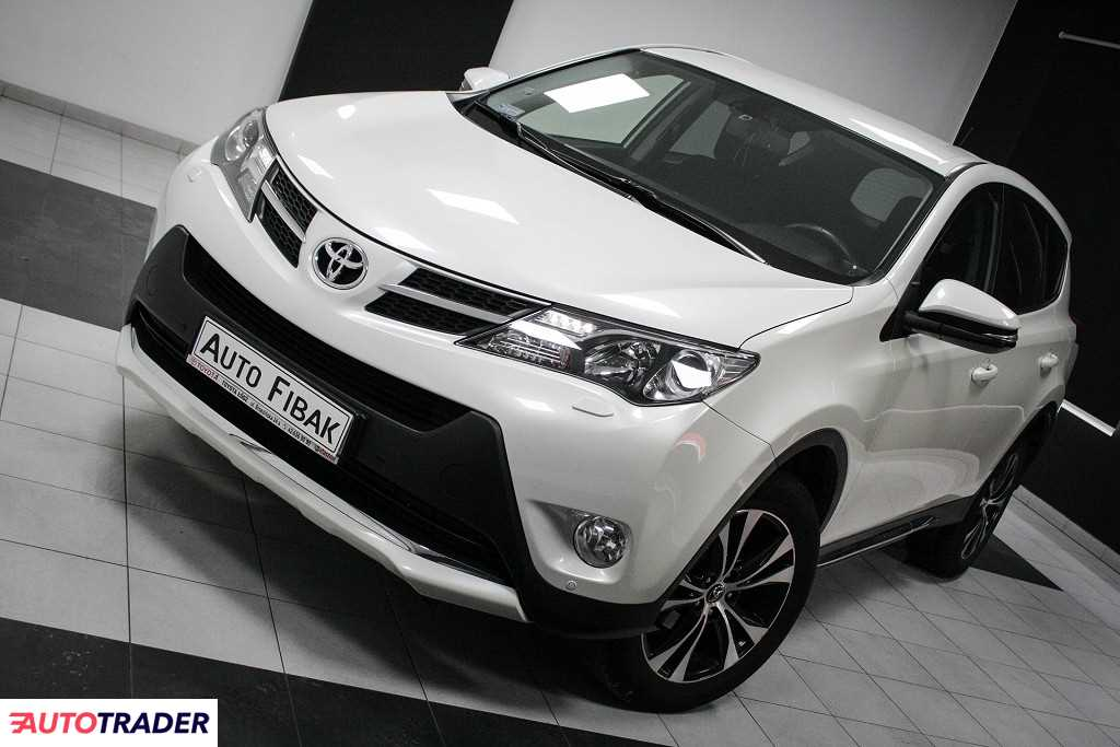 Toyota RAV 4 2015 2.0 124 KM