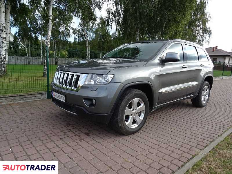 Jeep Grand Cherokee 2012 3 190 KM