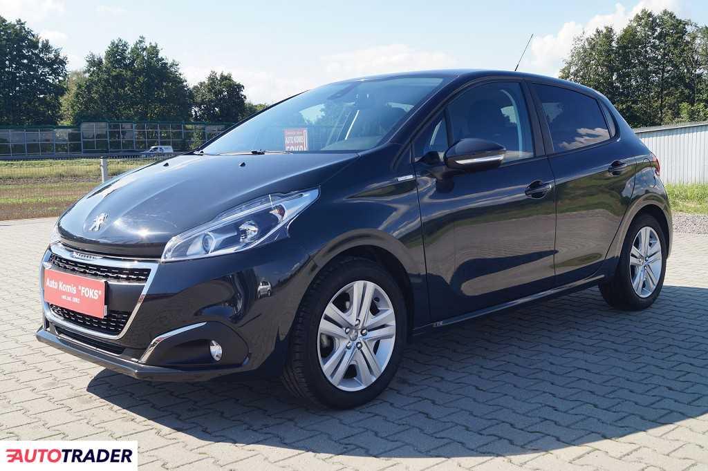 Peugeot 208 2018 1.2 82 KM