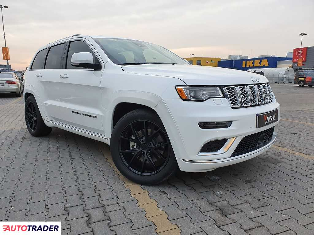 Jeep Grand Cherokee 2017 5.7 360 KM