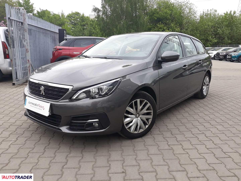 Peugeot 308 2018 1.5 130 KM